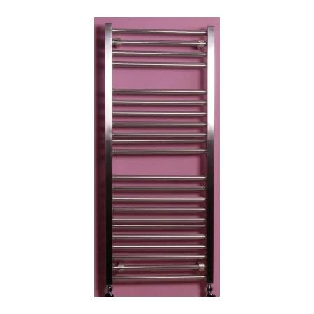 Zeta RUSHMORE Grzejnik dekoracyjny 1200x450 rozstaw 330 kolor INOX - RU04501200ECHM