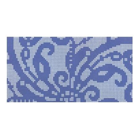 BISAZZA Embroidery Blue mozaika szklana błękitna/granatowa (BIMSZEBL)