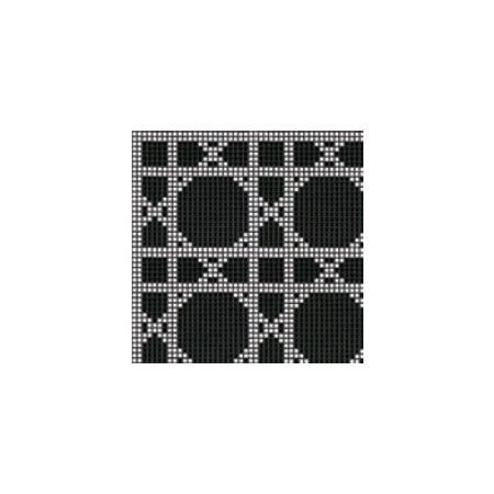 Bisazza Vienna Mozaika szklana 32,2x32,2 cm, czarna BIMSZVIN