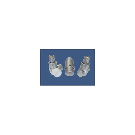 Schlosser Exclusive zestaw łazienkowy GZ ½ x złączka 15x1 Cu kątowy satyna 601700107