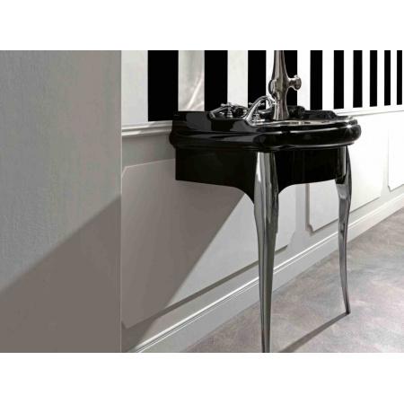 Kerasan Retro Umywalka wisząca 100x54,5 cm, czarna 1050CZB