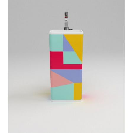 Flaminia Monowash Umywalka wolnostojąca 40x40x85cm, kolorowa MW40CD