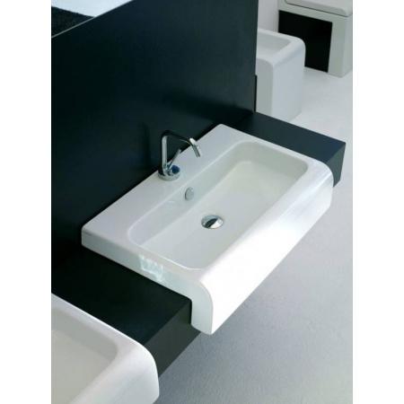 Art Ceram La Fontana Umywalka półblatowa 65x41,5 cm, biała L065 / LFL00501;00