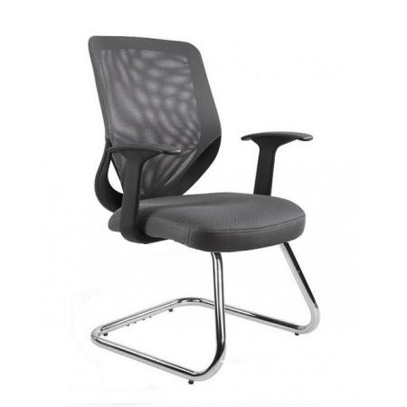 Unique Mobi Skid Fotel biurowy, szary W-953-8