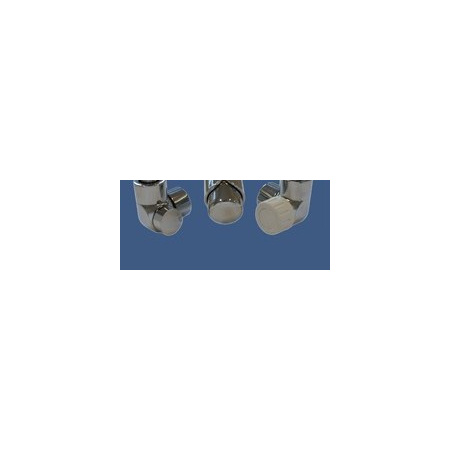 Schlosser Zestaw łazienkowy LUX GZ 1/2x złączka 16x2 PEX - kątowy chrom (603700034)