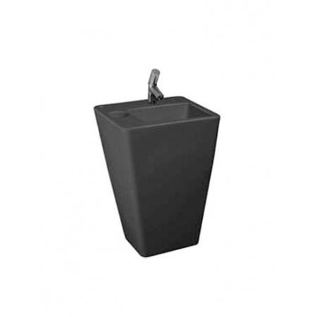 Laufen Alessi Dot Umywalka wolnostojąca 59x49 cm czarny mat H8119027161041