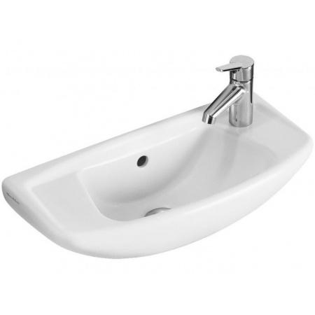 Villeroy & Boch Omnia classic Umywalka klasyczna mała 52,5x24 cm bez przelewu - Weiss Alpin Ceramicplus (732851R1)