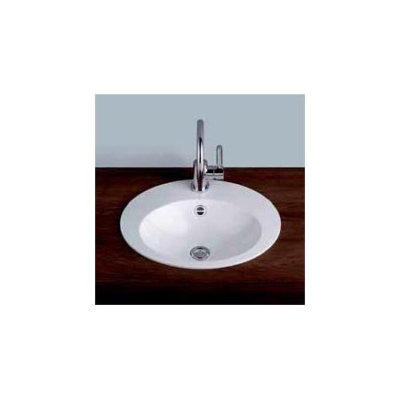 Alape umywalka emaliowana EB.O500H biała wymiary 106 x 500 x 400 nr kat. 2102000401