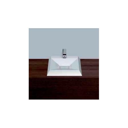 Alape umywalka emaliowana AB.KF457H biała z powłoką Easy-Care wymiary 70 x 457 x 532 nr kat. 3311000400
