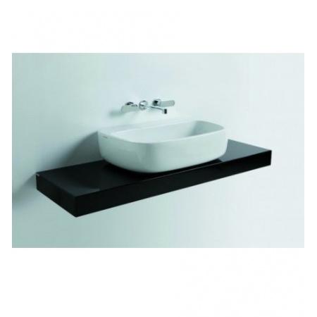 Flaminia Mono Półka do umywalki 100-250x46x10, biała F6MN74