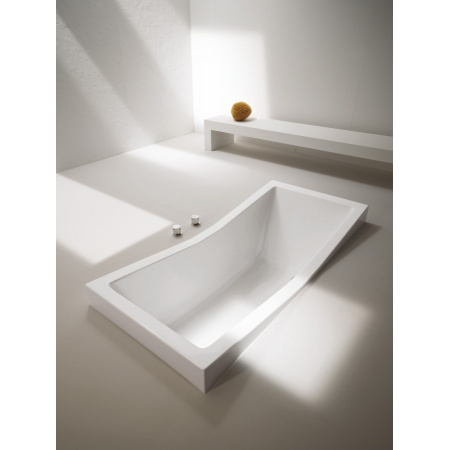 Hoesch Foster Wanna dwuosobowa prostokątna 180 x 80 cm, biała 6628