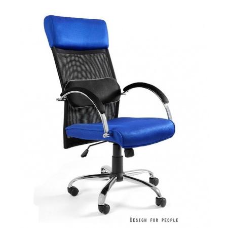 Unique Overcross Fotel biurowy, niebieski W-62-7