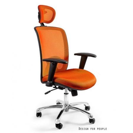 Unique Expander Fotel biurowy, pomarańczowy W-94-5