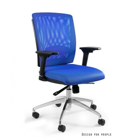 Unique Multi Fotel biurowy, niebieski X-7-7