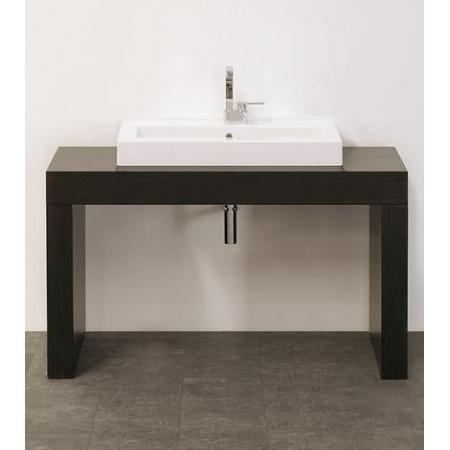 Flaminia Miniwash Stolik pod umywalkę 120-200x62x70cm, ciemny dąb B62AP