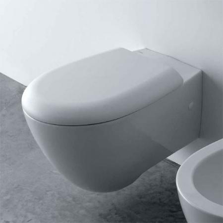 Globo Bowl Miska WC wisząca 55x38cm, biała SBS02.BI