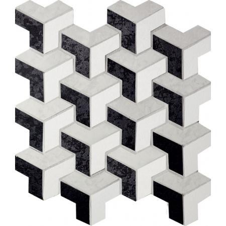 Tubądzin Barcelona Mozaika podłogowa Barcelona 1A 235x271 mm Gat.1