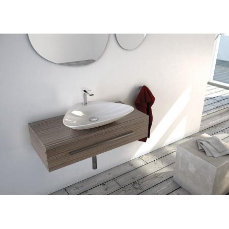 Art Ceram Plettro Quadro Umywalka nablatowa 59x45 cm, biała L2200 / PTL00201;00