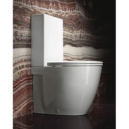 Catalano Velis Miska WC kompaktowa stojąca 62x37 cm z powłoką CataGlaze, biały 1MPVL00