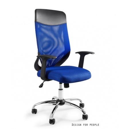 Unique Mobi Plus Fotel biurowy, niebieski W-952-7