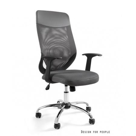 Unique Mobi Plus Fotel biurowy, szary W-952-8