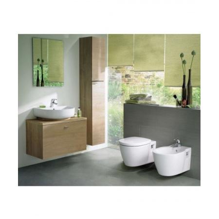 Ideal Standard Connect Miska WC wisząca 54x36 cm z półką, biały E804501