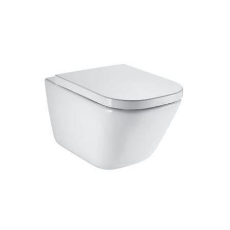 Roca Gap Toaleta WC 54x35 cm bez kołnierza z powłoką Maxi Clean biała A34647L00M