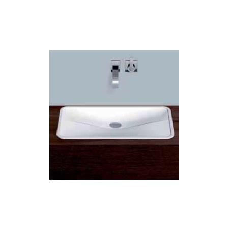 Alape umywalka emaliowana EB.TA700 biała z powłoką Easy-Care wymiary 77 x 700 x 385 nr kat. 2216000400