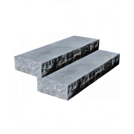 Klink Blok granitowy G654 płomieniowany split 130x35x15 cm, Padang Dark 99522998