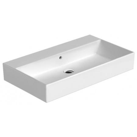 Catalano Premium Umywalka 80x47 cm bez otworu, z przelewem i z powłoką CataGlaze, biała 180VP00 / 80VP