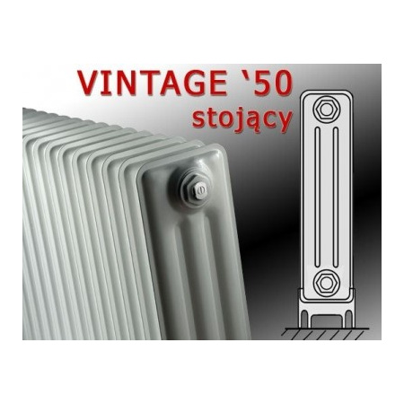 Vasco VINTAGE 50 - stojący 728 x 1000 kolor: biały