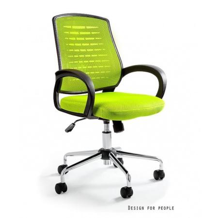 Unique Award Fotel biurowy, zielony W-120-9