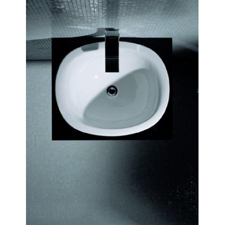 Flaminia IO Umywalka wpuszczana w blat 60x50,4x27,5cm, biała IO4260