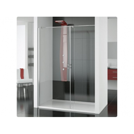 Ronal Modulo Ścianka prysznicowa typu Walk-in - 90 x 150 x 200 cm biały Szkło Durlux 200 (MOD6901500422)
