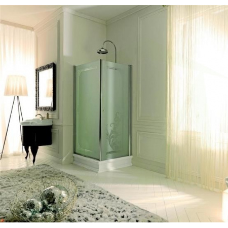 Kerasan Retro Drzwi prysznicowe 180x92 cm, chrom 9140P0