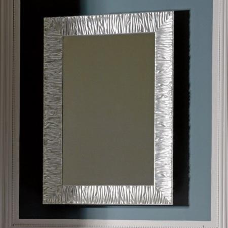 Kerasan Retro Lustro łazienkowe 70x100 cm, srebrna rama 736502
