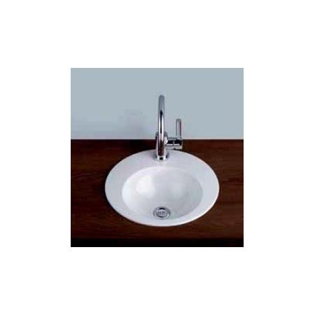 Alape EB.K400H Umywalka wpuszczana w blat 40 cm emaliowana biała z powłoką 2003000400