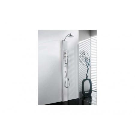 Novellini THINK 1 Panel prysznicowy - z siedziskiem Termostatyczny THINKNP1VT-B