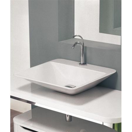 AREA CERAMICA Edge Thin Umywalka 59x54 biała (AREA CERAMICAUET59X54)