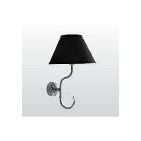 Kerasan Retro Lampa wisząca, czarna/chrom 7367K0