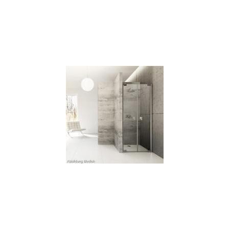 Huppe Enjoy Elegance Drzwi wahadłowe do wnęki 90 x 200 cm szkło anti plaque, chrom 3T2402.092.322