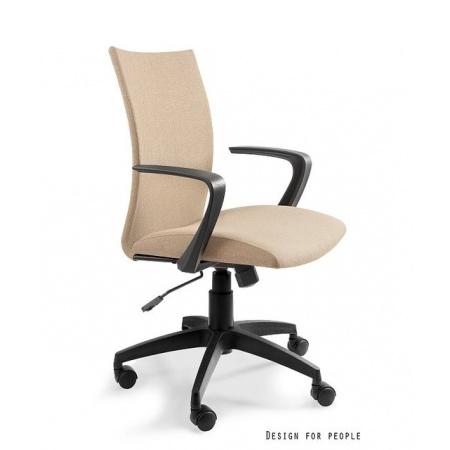 Unique Millo Fotel biurowy, beżowy W-157-1-1