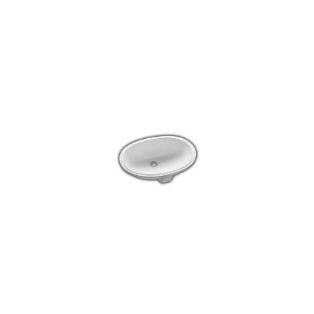Hatria Caterine Umywalka podblatowa 57x42,5 cm, biała Y651