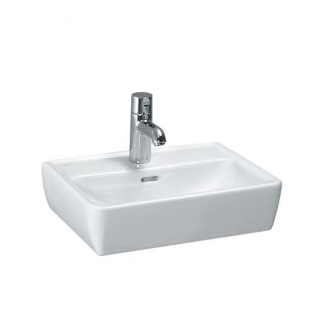 Laufen Pro Umywalka wisząca lub nablatowa 45x34 cm biała H8119520001041