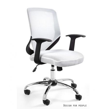 Unique Mobi Fotel biurowy biały W-95-0