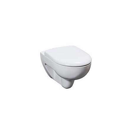 Keramag Renova Nr 1 Muszla klozetowa miska WC podwieszana 54x35,5 cm lejowa Rimfree, biała 203050