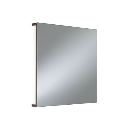 Koło lustro wiszące TWINS 50 cm, wenge, SIMPLE Wenge (88300)