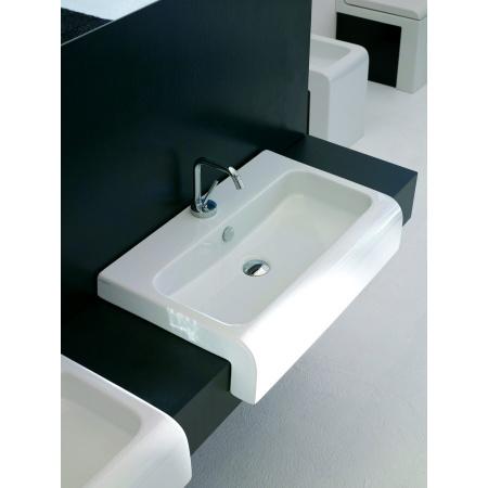 Art Ceram La Fontana Umywalka półblatowa 45x41,5 cm, biała L045 / LFL00401;00