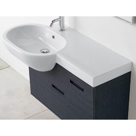 Globo Bowl Szafka pod umywalkę 81x32,5x50cm, wenge SCW100D