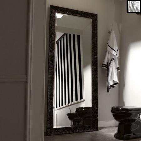 Kerasan Retro Lustro łazienkowe 70x180 cm, srebrna rama 736602